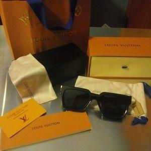 Louis Vuitton 1.1 Millionaires sunglasses in Black